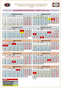 CALENDARIO ITM 13-14