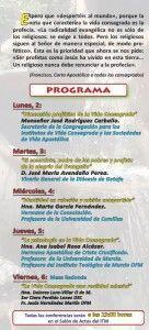 programa de las XXVIIIJornadas