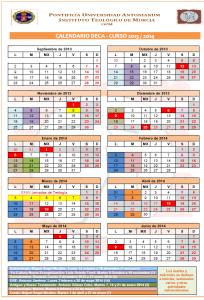 Calendario DECA 13-14