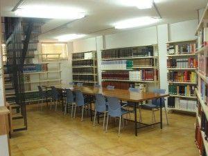 Sala de lectura del ITM