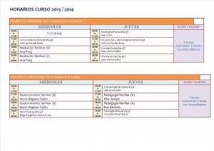 Horarios 13-14