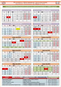 Horarios DECA 15-16