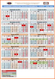 cALENDARIO FUNDAMENTAL 14-15