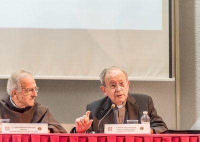Monseñor Algora y el P. Pedro Riquelme