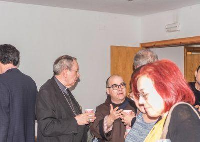 Monseñor Algora comparte el ágape
