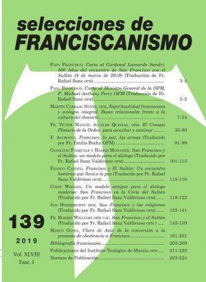 Selecciones de Franciscanismo Nº 139