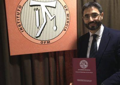 Defensa de Tesis doctoral del prof. García Férez